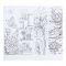 """Раскраска антистресс, альбом """"Цветочное наслаждение"""" 20 стр. Вид4"""