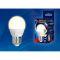 Лампа Uniel Яркая, светодиодная LED-G45 7W/WW/E27/FR PLP01WН Форма «шар», матовая, теплый белый свет Вид1