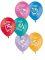 """1103-0093 Надувной шарик с рисунком Смешарики """"12""""/50 Вид1"""