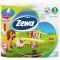 ZEWA KIDS туалетная бумага 3-х слойная 4шт Вид1