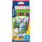 """Карандаши с двухцветным грифелем Berlingo """"Водопад"""", 12шт., 24цв. Вид1"""