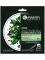 Garnier Черная тканевая маска очищающий Уголь + Листья Черного чая, увлажняющая, матирующая, для склонной к жирному блеску кожи, 28 г Вид1