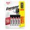 ENERGIZER Батарейка MAX E92 / AAA / LR03 упак. 3+1 шт Вид1