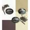 Vivienne Sabo тени для бровей двойные Eyebrow shadow Duo, тон 03, цвет: брюнет, 1,6 г Вид2
