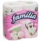 Familia Plus бумага туалетная 4рул 2сл весенний цвет Вид1