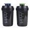 Бутылка для воды, 500 мл, спорт с шейкером, цвет: микс, артикул: 20119-0204 Вид1