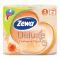 ZEWA DELUXE туалетная бумага 3-х слойная 4шт аромат. персик Вид1