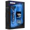 GILLETTE MACH3 Набор Бритва с 1 сменной кас+FUSION Гель д/бр Ultra Sensitive (д/чувств кожи) 75мл+До Вид1