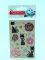 ЛИПУНЯ GS001Блестящие наклейки розы и кошки Вид1
