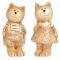 Набор фигурок декоративных Кот и кошка 11х4.5х3.7/11х5.5х5см арт.20119-0441 Вид1