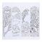 """Раскраска антистресс, альбом """"Таинственный мир зверей"""" 20 стр. Вид4"""