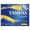 TAMPAX тампоны 16шт COMPAK REGULAR TM 116/383/589 Вид1