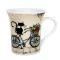 """Кружка 310 мл """"Котик на велосипеде ZPX415 Вид1"""