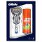 ПН Gillette Fusion станок с 1 сменной кассетой и гель для бритьядля чувствительной кожи 75 мл Вид1