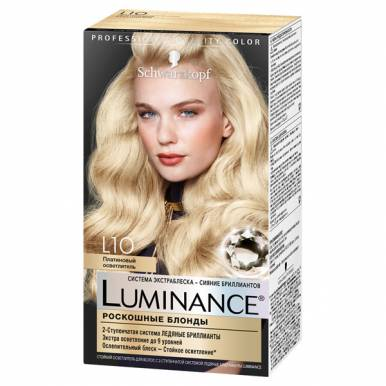 Luminance краска для волос, тон L10, цвет: Платиновый осветлитель