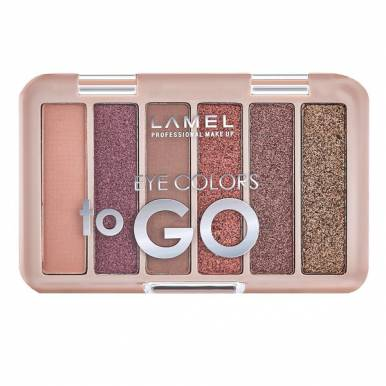 Lamel professional Набор теней для век Eye Colors to GO №401