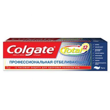 COLGATE CN03108A з/п 75мл TOTAL 12 Профессиональная Отбеливающая