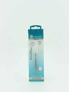 Zinger B162S пинцет скошенный