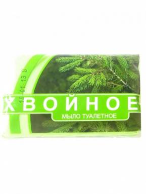 Ординарное мыло туалетное ХВОЙНОЕ 200гр п/п/а3812