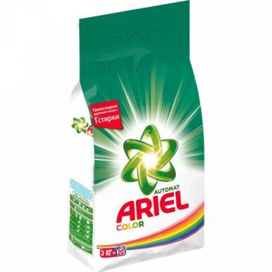 Ariel стиральный порошок Automat 3 кг, Color & Style