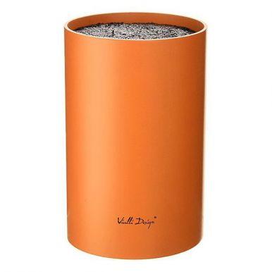 STN-1O Подставка д/ножей универсальная, пластиковая, оранжевая