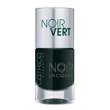 CATRICE Лак для ногтей NOIR NOIR LACQUERS 06 Noir Vert оливково-черный