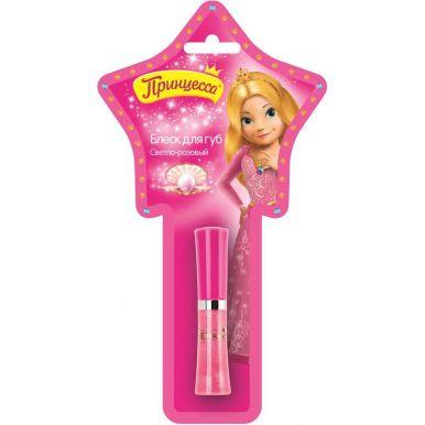 Принцесса блеск для губ со спонжем Светло-розовый