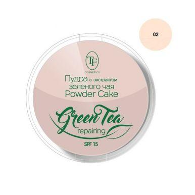 TF пудра для лица с экстрактом зеленого чая, СТР16, тон 02