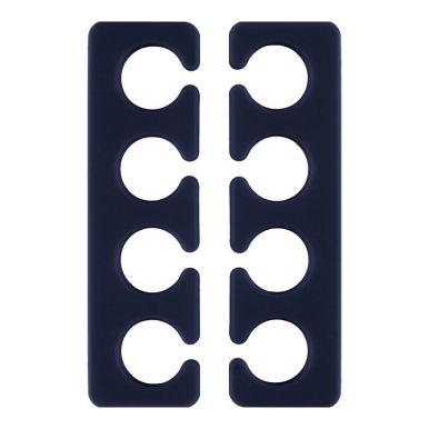 QVS (82-10-1753) Гелевые разделители пальцев для педикюра (1 пара)