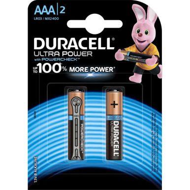 DURACELL UltraPower Батарейки AAA 2шт