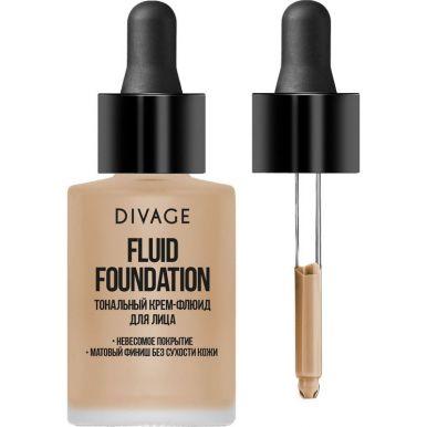 DIVAGE Тональный крем-флюид для лица Fluid Foundation № 03 NEW