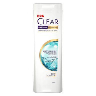 Clear Nutrium шампунь против перхоти интенсивное увлажнение, 400 мл