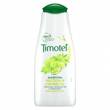 TIMOTEI шампунь 400мл Здоровый баланс