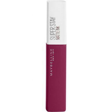 Maybelline помада для губ жидкая Super Stay Matte, тон Ink, матовая, тон 115, Искатель, 5 мл