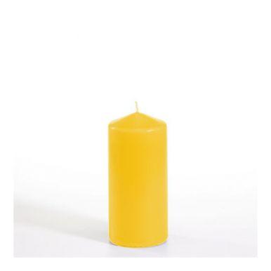 PAP STAR 13589 Свеча Столбик  6*13 желтый