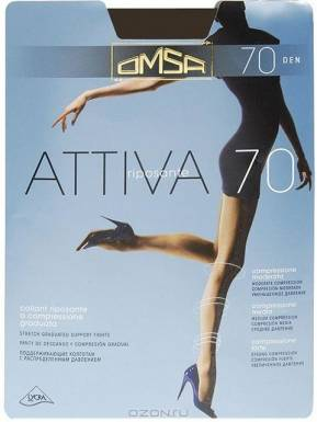 Omsa колготки Attiva 70 р.4 цвет LOLA