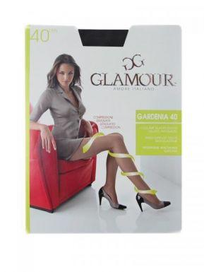 Glamour колготки GARDENIA 40 p.3-M цвет NERO