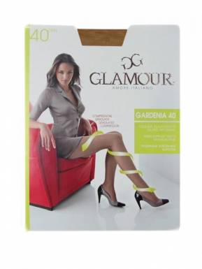 Glamour колготки GARDENIA 40 p.XL цвет BRONZO