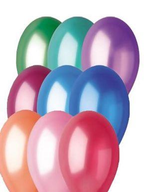 Надувной шарик металлик, артикул: 1101-0001