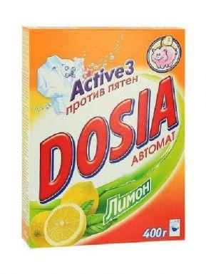 DOSIA стиральный порошок automatic 400/440г Lemon
