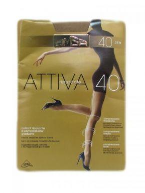 Omsa колготки Attiva 40 р.3 цвет LOLA
