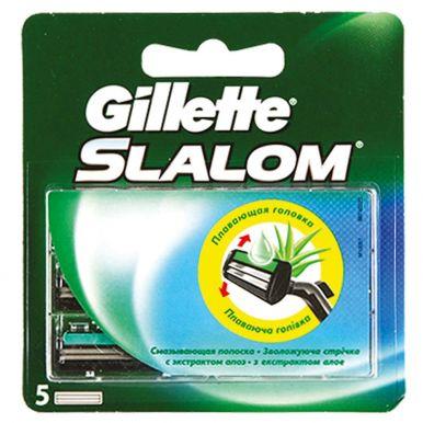 GILLETTE кассеты SLALOM 5шт (303/150/860)