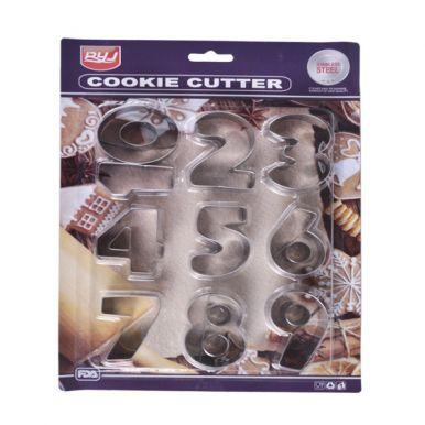Набор форм для печенья Цифры 2х17.4х20см арт.30119-0168 Код260768