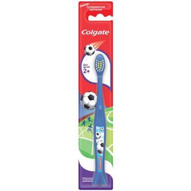 Colgate зубная щетка Для детей 2+, супермягкая, цвет: в ассортименте
