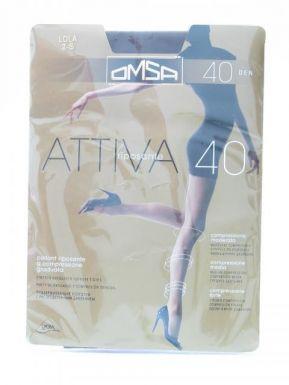 Omsa колготки Attiva 40 р.2 цвет LOLA
