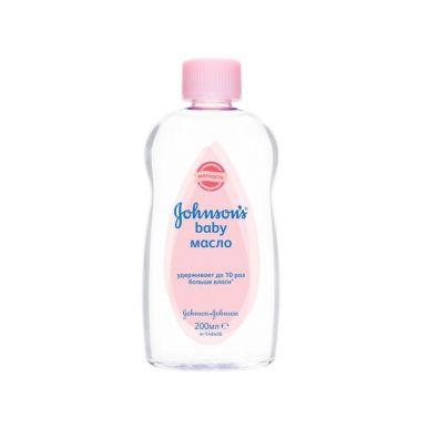 J&J JOHNSONS BABY масло детское 200мл