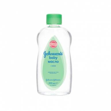 J&J JOHNSONS BABY масло детское 200мл с алоэ