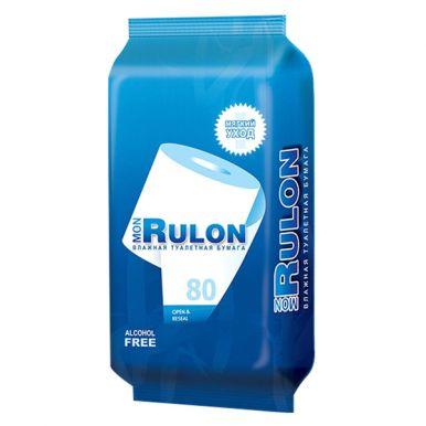 MON RULON №80 Бумага туалетная влажная 48124