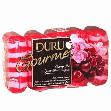 DURU GOURMET мыло 5*75гр Cherry pie/а1488