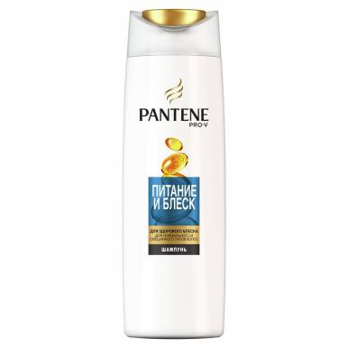 PANTENE шампунь 400мл Питание и Блеск 892/358/711